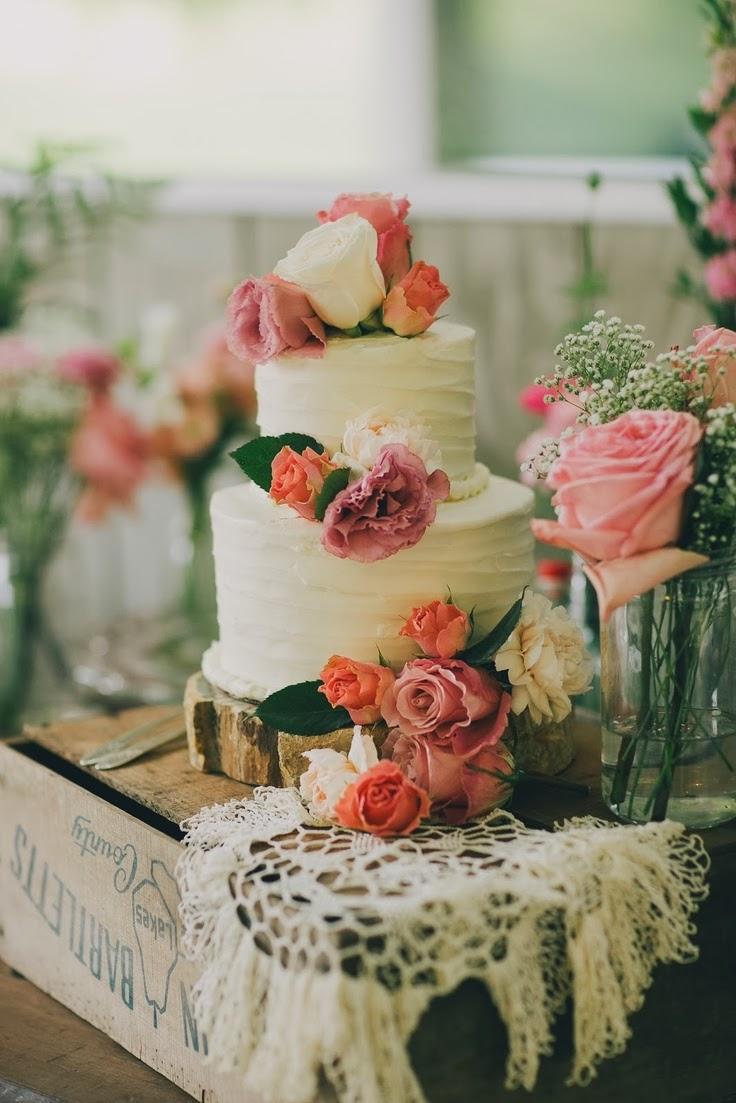 donde puedo encontrar fotos de pasteles decorados con flores  - Fotos De Pasteles Con Flores Naturales