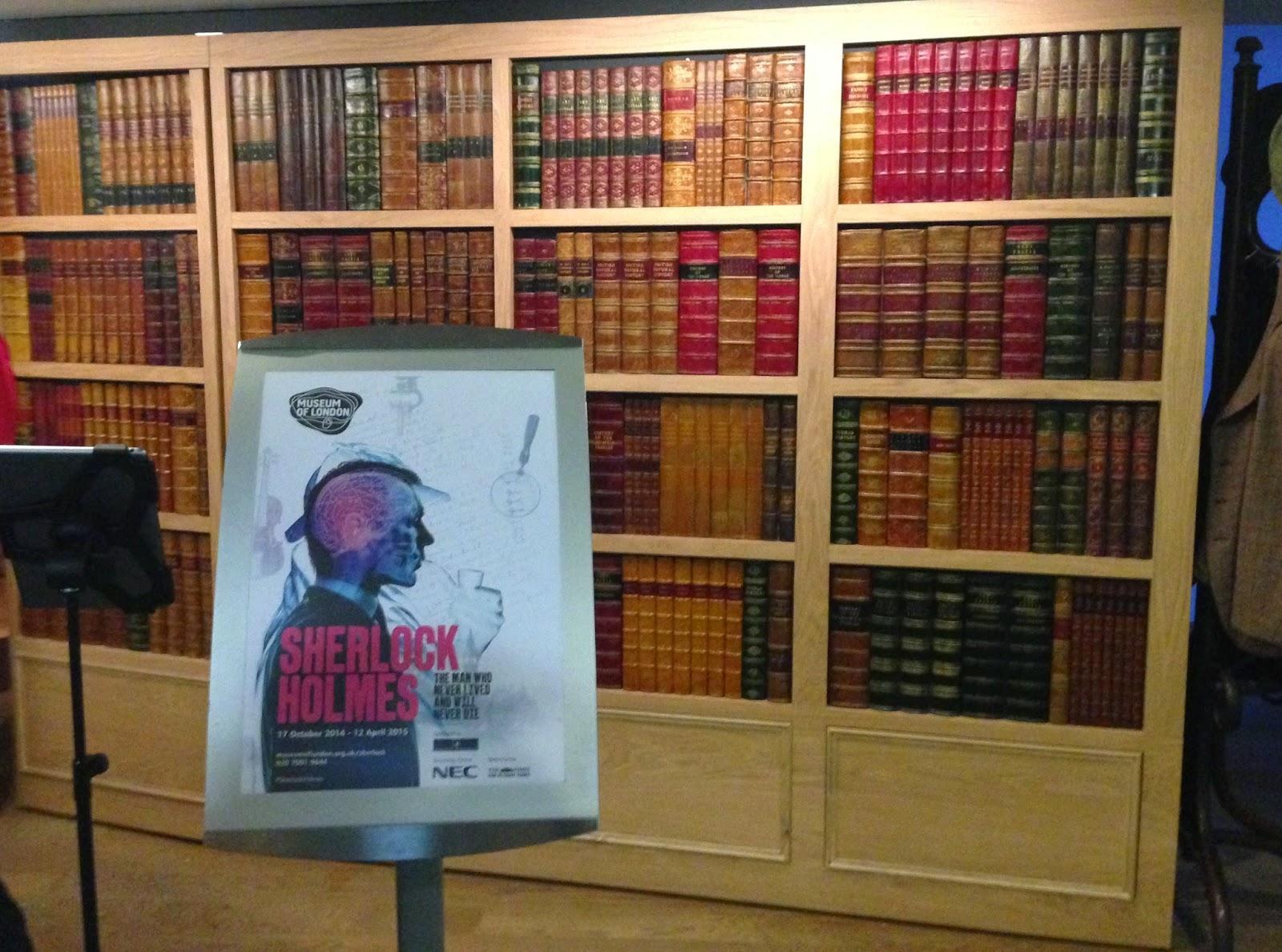 Museum of London Sherlock Holmes