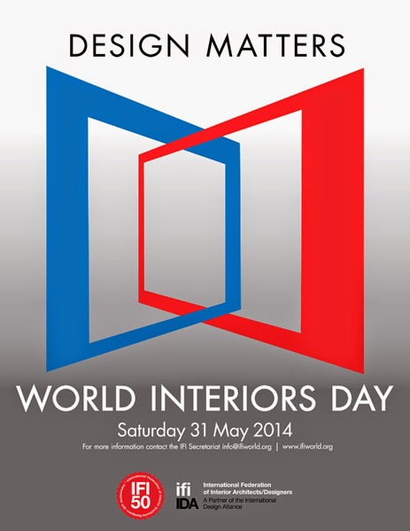 el color comunica world interiors day 2014 theme design