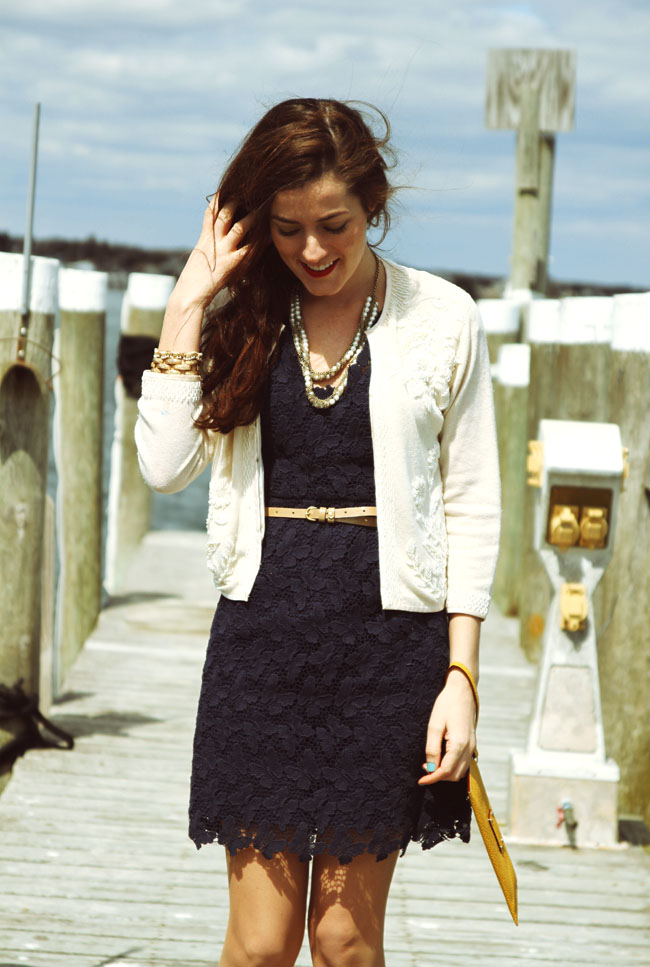 Preppy Classic Dress Cardigan
