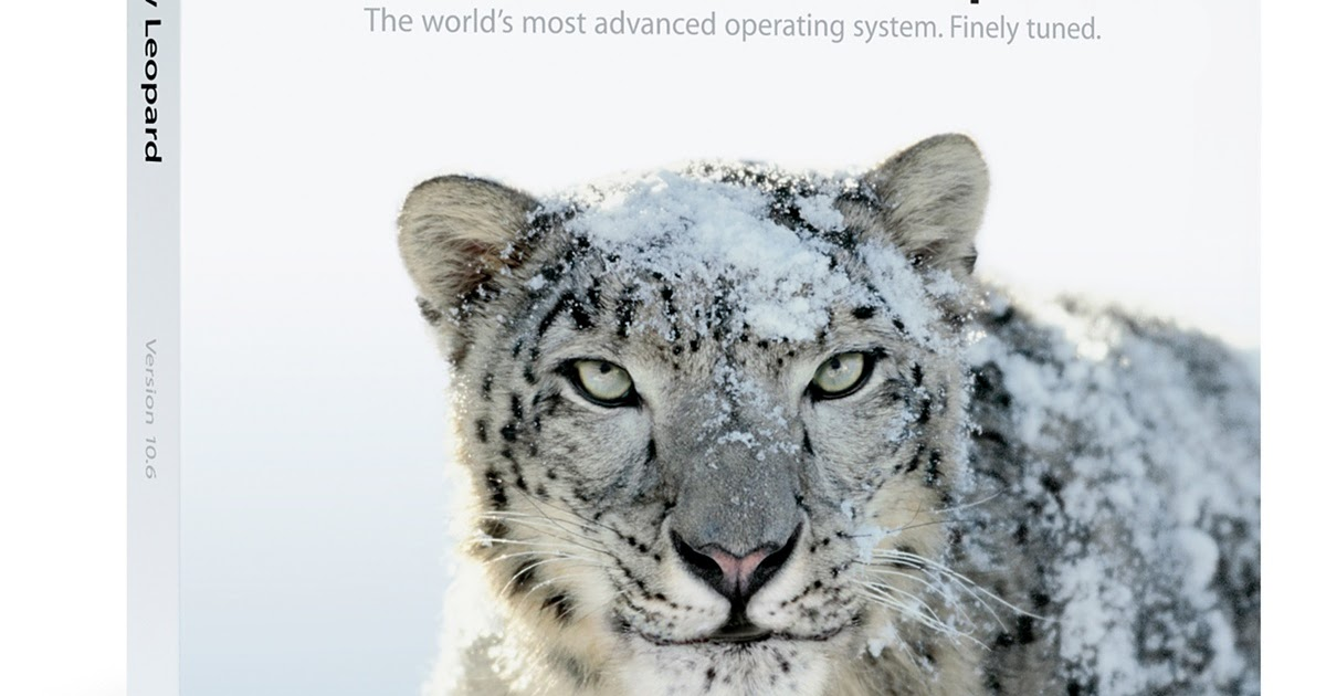 Free Download Apple Mac OS X Snow Leopard Software or ...