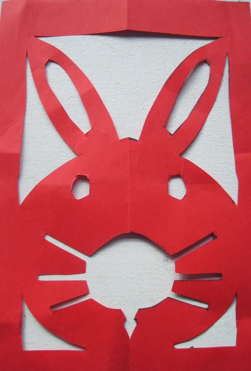 made out of things paper bunnies