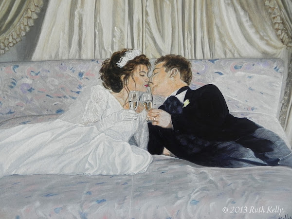 Wedded Bliss by Ruth Kelly, Close-up, www.ruths-world.com