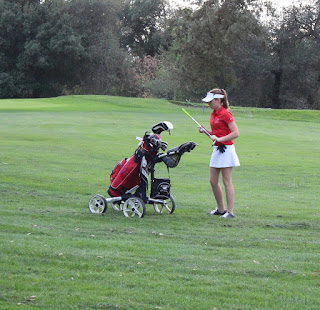Girls' Golf Hits Divisional Rounds Monday