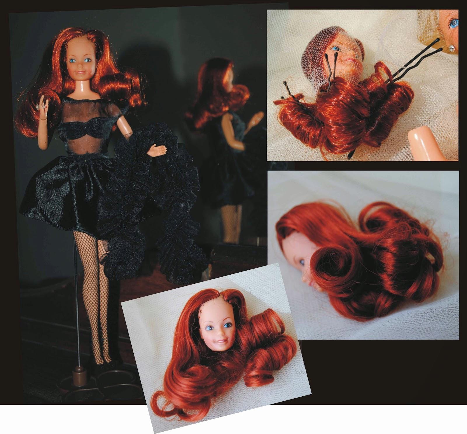 Dica lavar cabelo de Boneca
