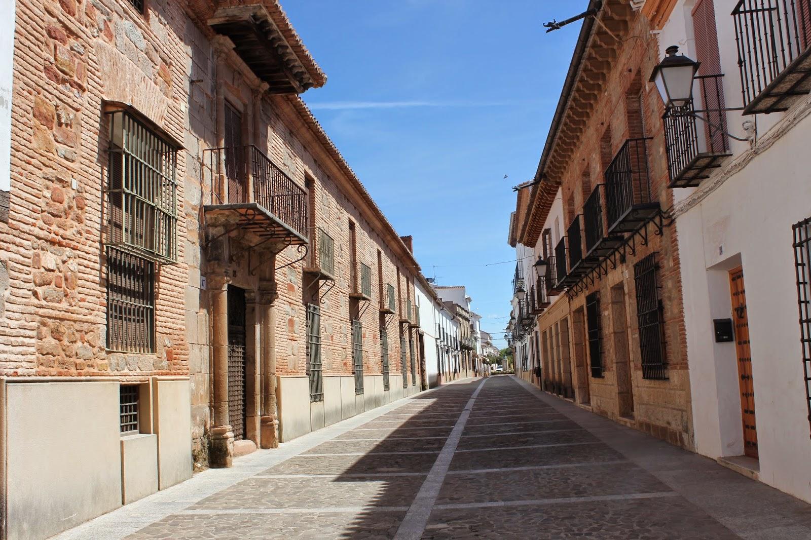 De valdepe as a santa cruz de mudela pasando por villanueva de los infantes - El escondite calle villanueva ...