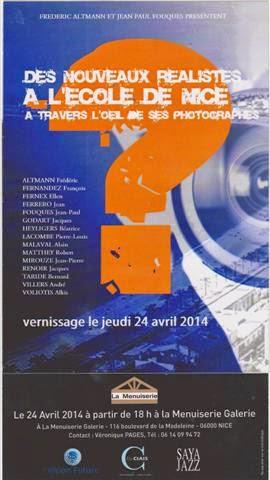Des nouveaux réalistes à l'Ecole de Nice à travers l'œil de ses photographes
