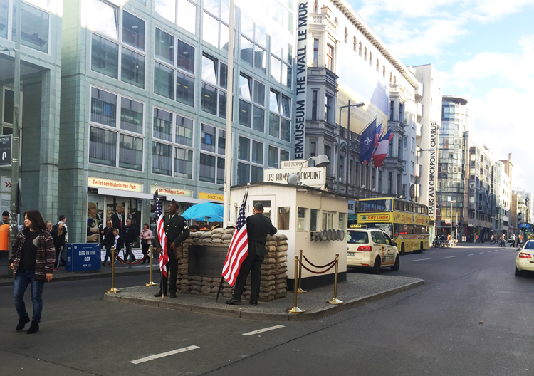 Checkpoint Charlie Berlin 2015
