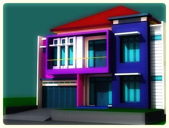 kumpulan desain rumah minimalis tampak depan
