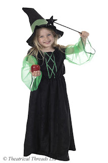 Witch Kids Costume from Theatrical Threads Ltd