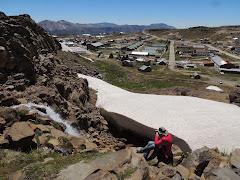 Cachoeira Formada por Neve Derretida - Copahue