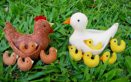 clucky Hen and chicks, Mother duck and ducklings  Kit  $35 plus postage