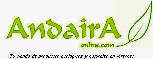 TIENDA ONLINE DE PRODUCTOS ECOLÓGICOS  ANDAIRA