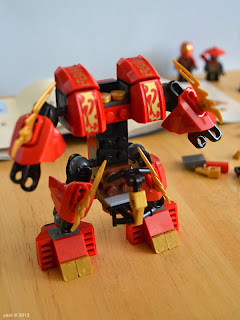 lego ninjago - then some arms