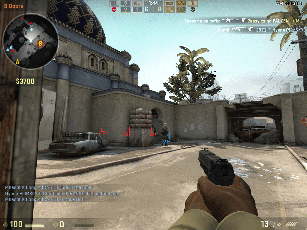 tfnipd23 Counter Strike Mavi Kırmızı Wallhack Aimbot Hile indir