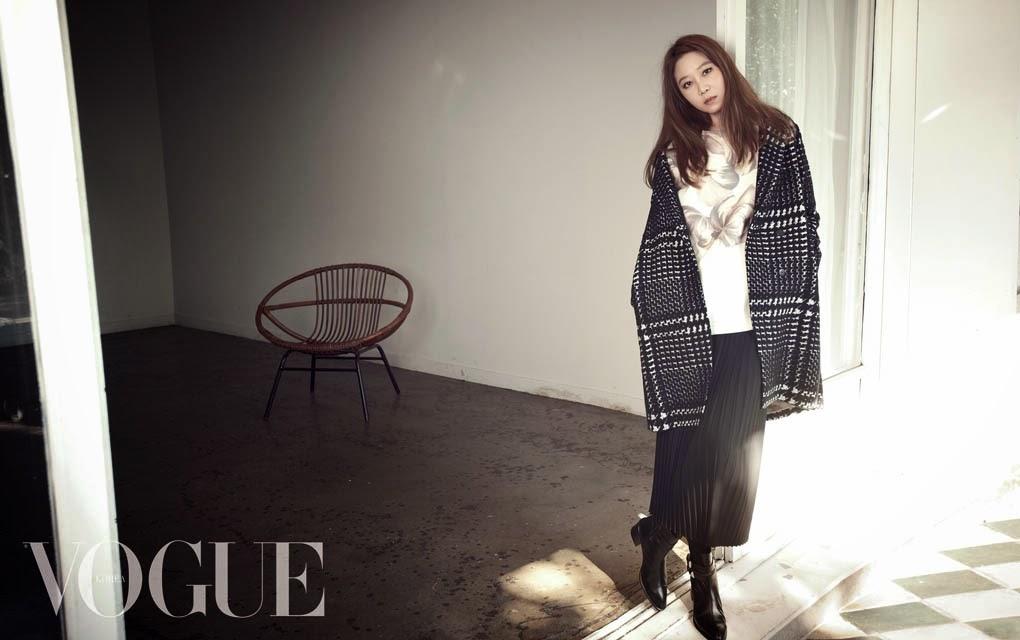 Gong Hyo Jin - Vogue Magazine November Issue 2014