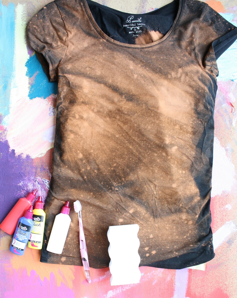 hungryhippie sews: DIY Galaxy Nebula t-shirt tutorial