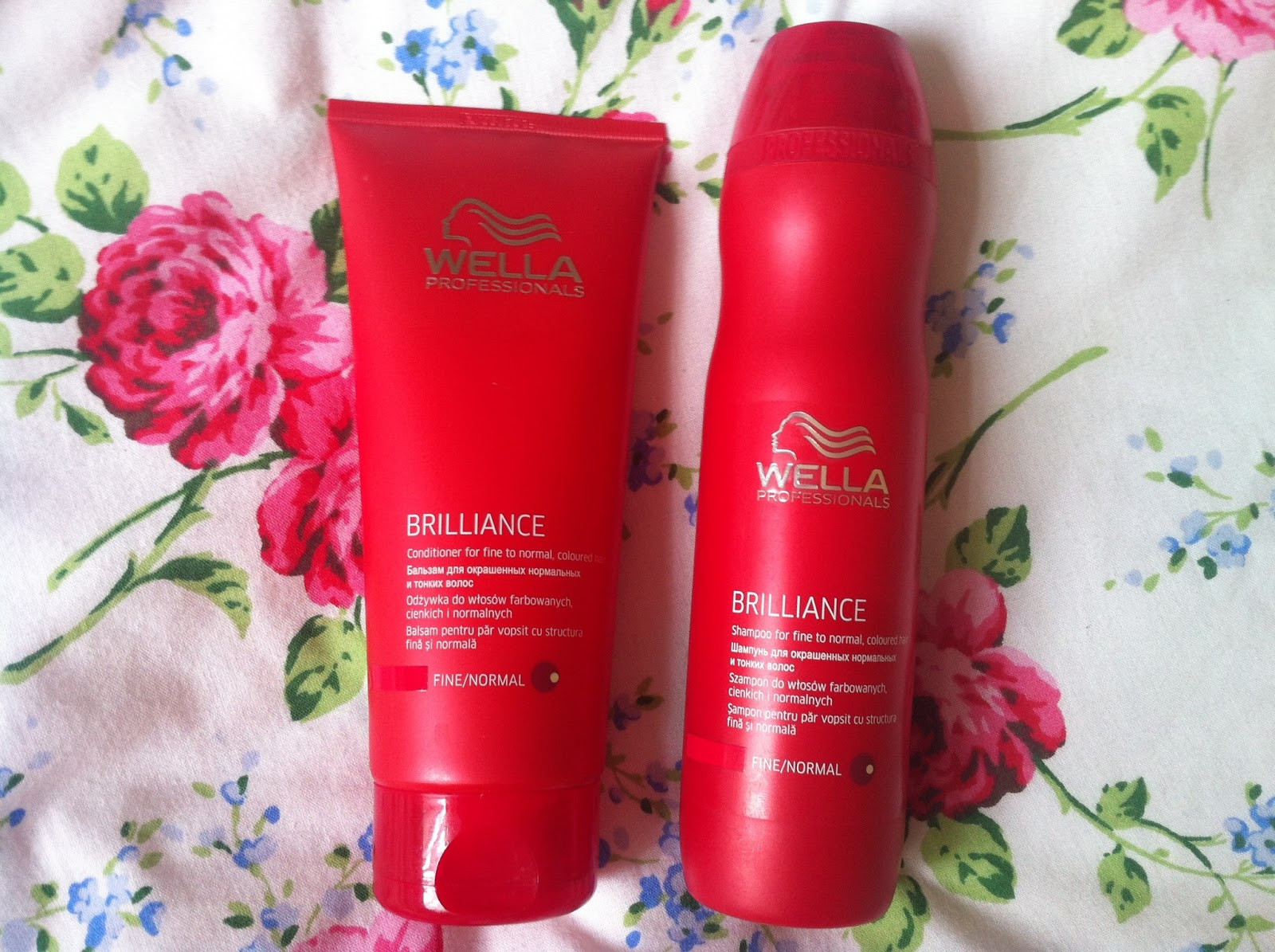 abby mchale review wella professional brilliance shampoo and conditioner. Black Bedroom Furniture Sets. Home Design Ideas
