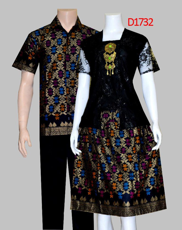 BATIK COUPLE DRESS D1732