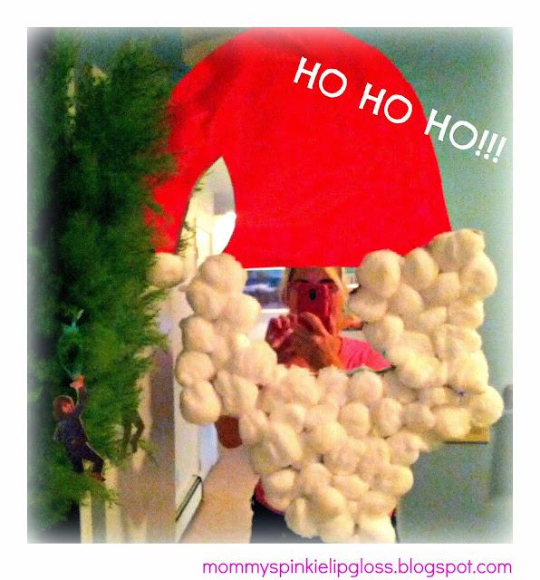 Santa Claus Craft, easy Christmas Craft from MommysPinkieLipgloss.blogspot.com