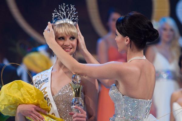 miss slovenia slovenije 2011 winner lana mahnic jekos