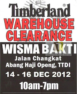 Timberland Warehouse Clearance Sale 2012