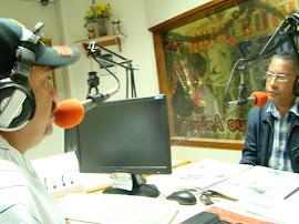 Alcalde Malavé en su Programa de Radio con el Ingeniero de Corpoelec Orestes Morao