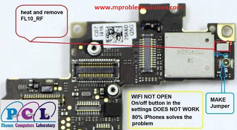 На айфон 4 не работает вай фай ремонт своими руками 6246