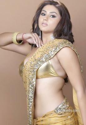 Namitha in Sarees, Telugu Babe Namitha in Desginer Sarees Online