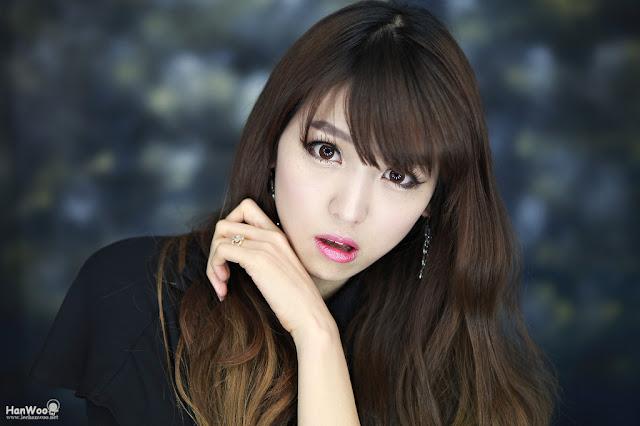 Korean Model - Lee Eun Hye - Beautiful Cute Face Portrait