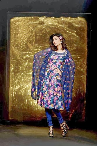 Sana Samia Summer Collection 2014 By Lala