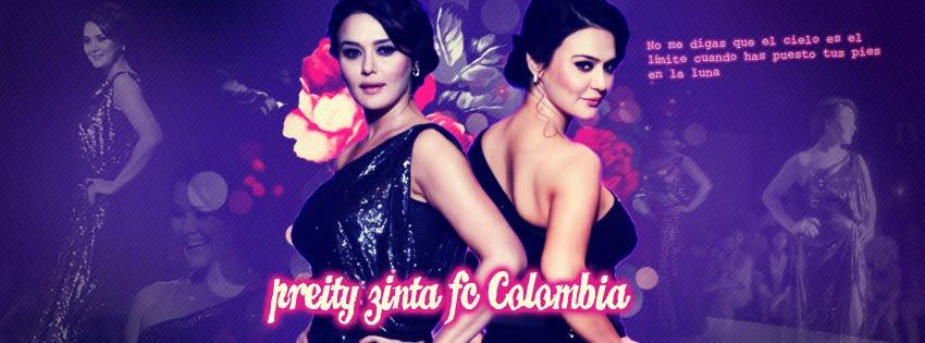 Preity Zinta Colombia