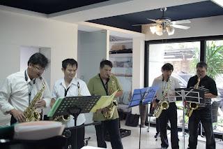 Saxophone Ensemble  綠生活樂團
