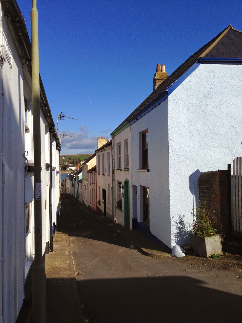 Narrow streets, Appledore, Devon