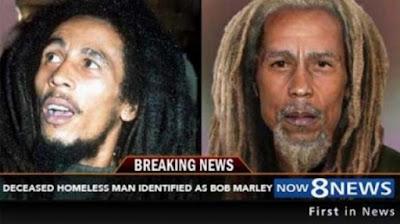 Ternyata Bob Marley Selama Ini Menyamar Jadi Pengamen dan Baru Meninggal Pekan Lalu