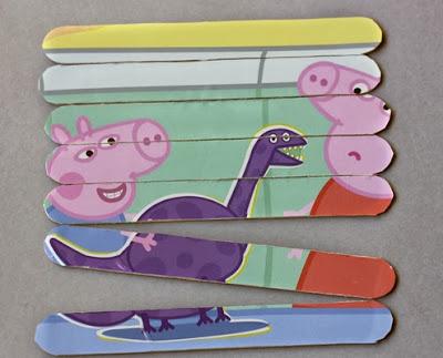 Puzzle DIY, puzle casero, manualidades fáciles, manualidades para niños