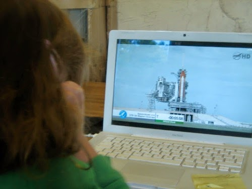 Watching the Last Shuttle Launch - Our Handmade Home
