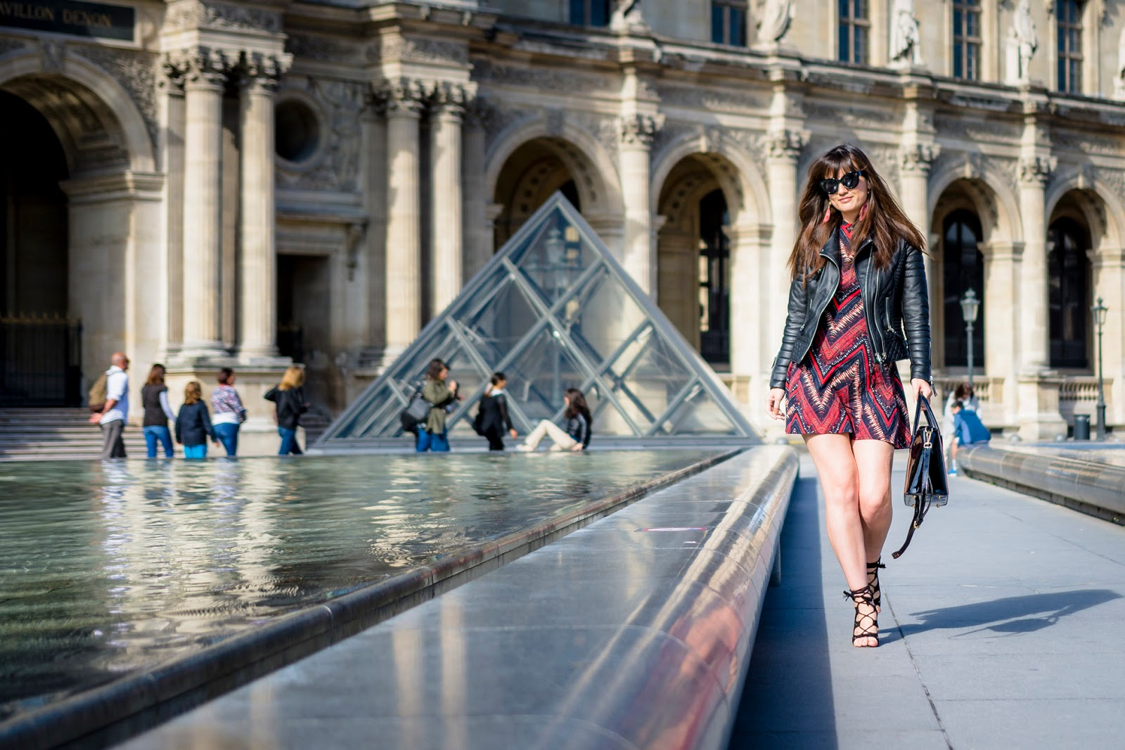 Fashion photography, style, meet me in paree, tally weijl summer collection, The louvre