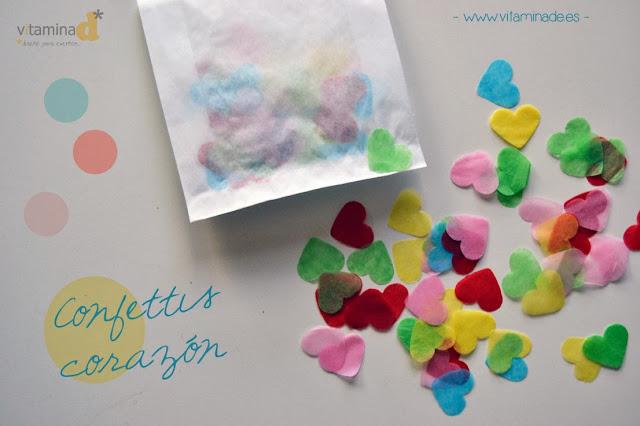 confettis corazón