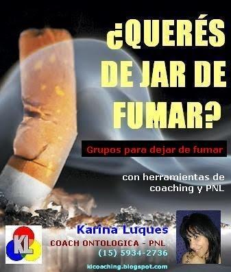 Grupos para dejar de fumar