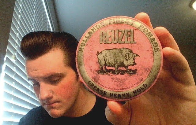Review Pomade Reuze Pink Heavy Hold Grease Pomade