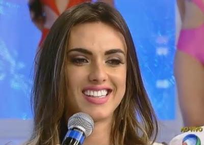 """Volta de Nicole Bahls ao """"Pânico"""" irrita Panicats 'não vou usar biquíni no palco'"""