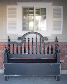 Headboard Bench (SOLD)