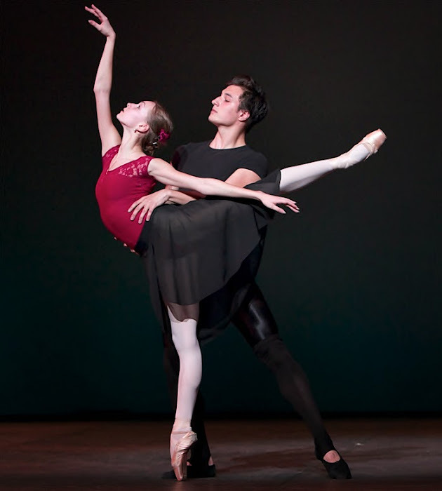 Olga Smirnova. Bailarina
