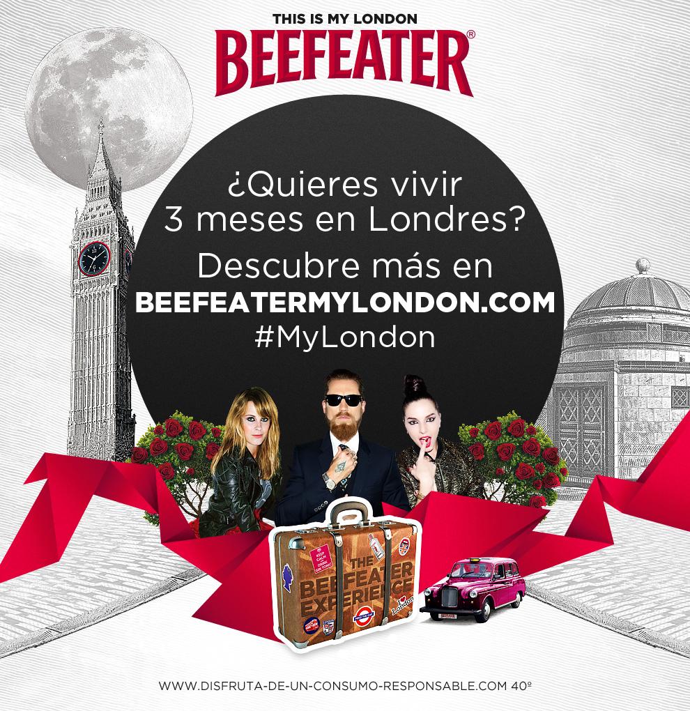 Oferta de trabajo se buscan beefeater london bloggers - Oferta de empleo en londres ...