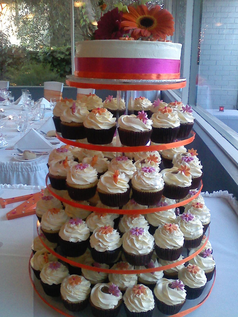 Wedding Cupcake Tower Ideas