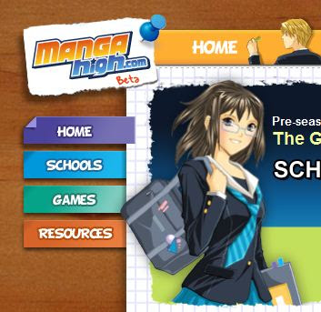 Manga high a very cool math games site i like it because games can