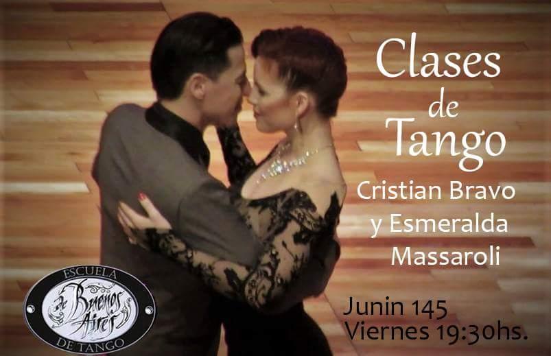 Aprendé a bailar tango con Cristian y Esmeralda!