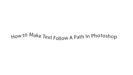 Photoshop Text on a Circular Path - YouTube