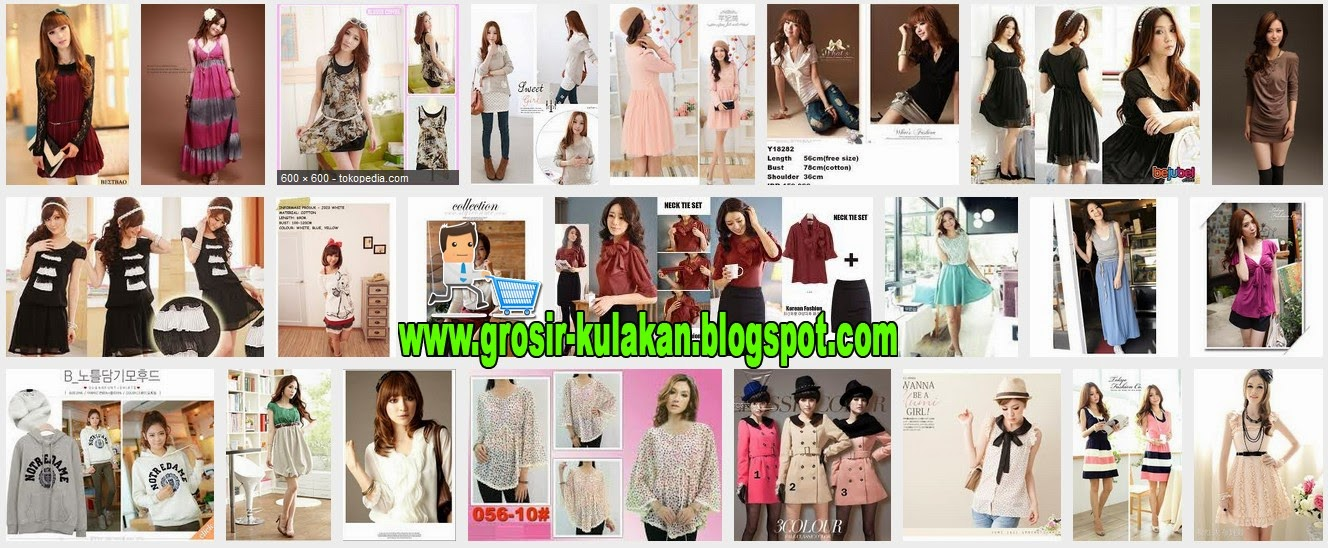 Supplier Baju Korea Ready Stock